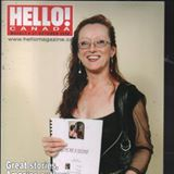 1 brenda hello magazine with book